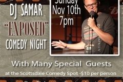NOV-10TH-DJSAMARSHOW-COMEDYSPOT
